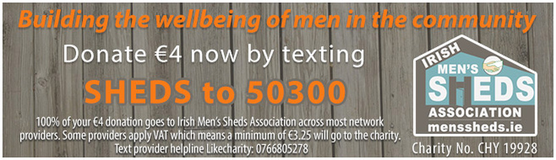 Fundraising for Men's Sheds